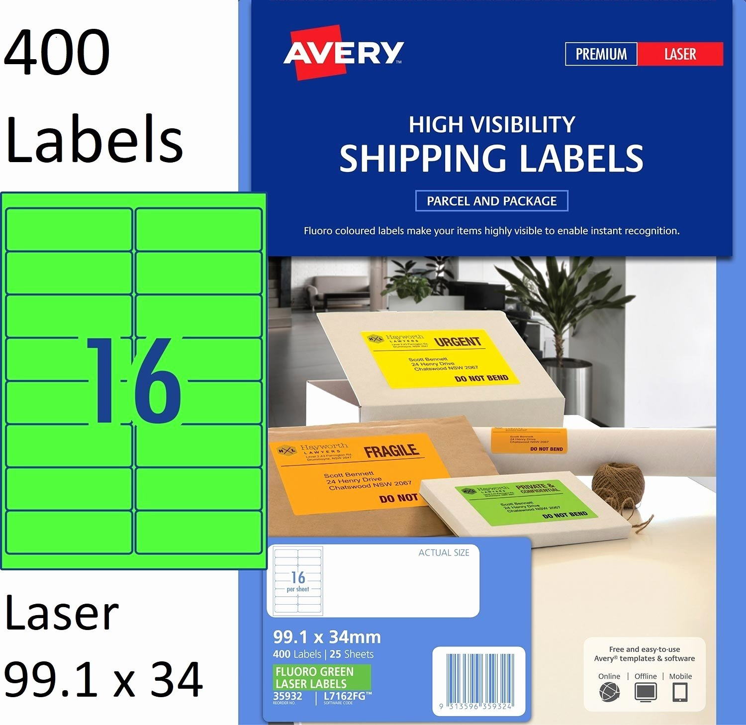 Uline Label Templates Awesome Label Template 16 Per Sheet