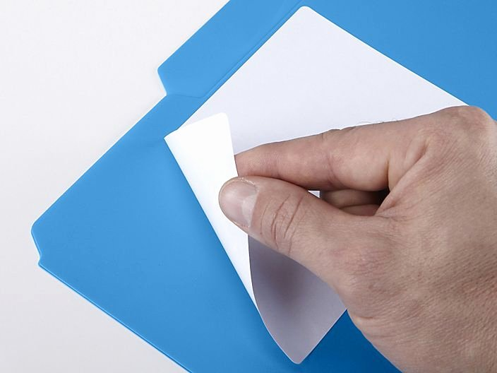 "Uline Label Templates Inspirational Uline Removable Laser Labels White 4 X 6"" S Uline"