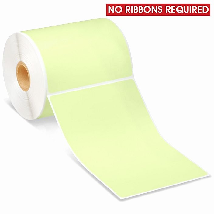 """Uline thermal Labels Awesome Desktop Direct thermal Labels Green 4 X 6"""" S 8604g Uline"""