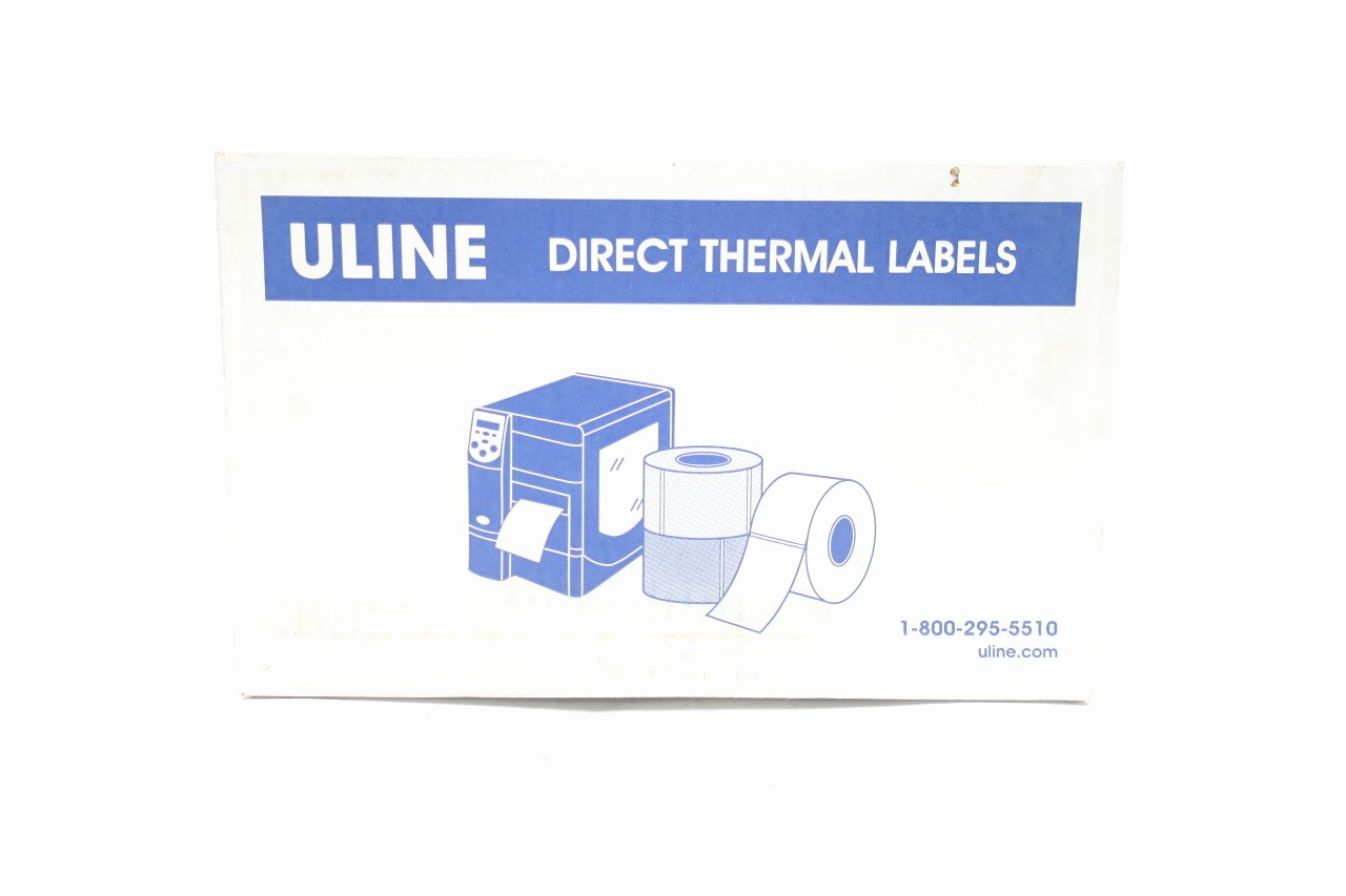 Uline thermal Labels Lovely Box Of 6 Uline S 6262 3x5 Direct thermal Label D