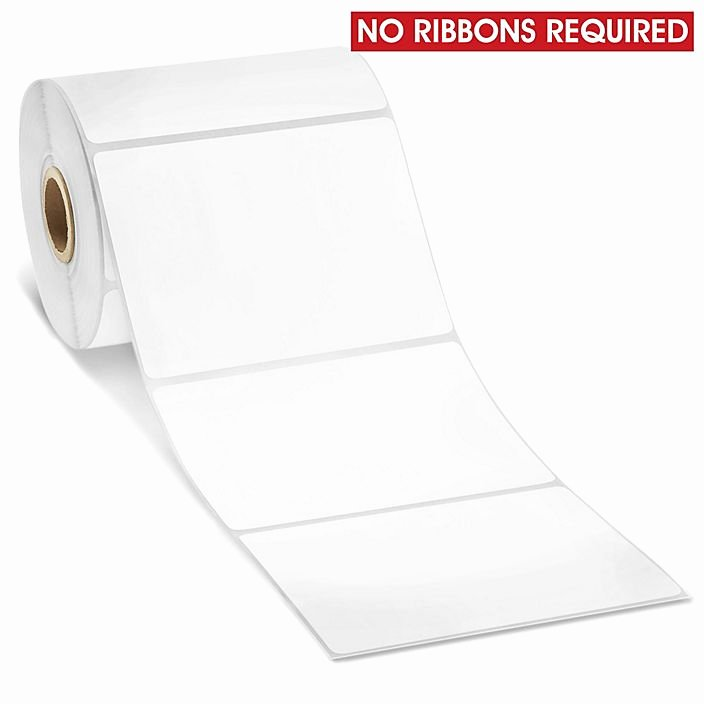 Uline thermal Labels Luxury Removable Adhesive Desktop Direct thermal Labels 4 X 3
