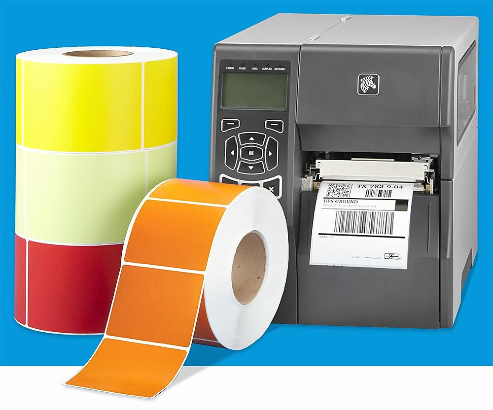 Uline thermal Labels New Industrial Direct thermal Colors In Stock Uline