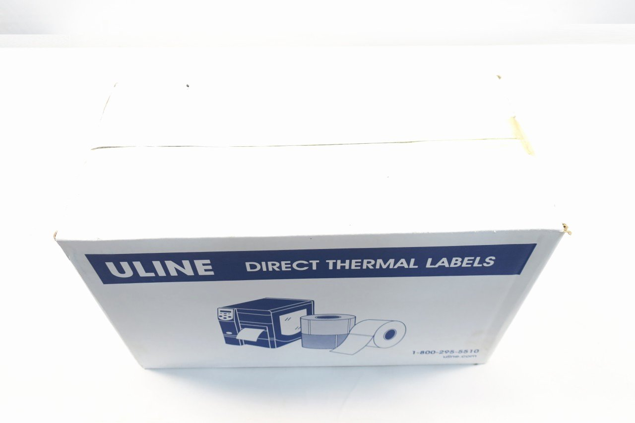 Uline thermal Labels Unique Box Of 6 Uline S 6262 3x5 Direct thermal Label D