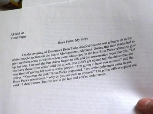 Unc Rosa Parks Final Paper Awesome College Basketball Rosa Parks Essay