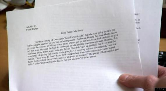 Unc Rosa Parks Final Paper New that Viral Unc Student athlete S Final Paper Was Actually