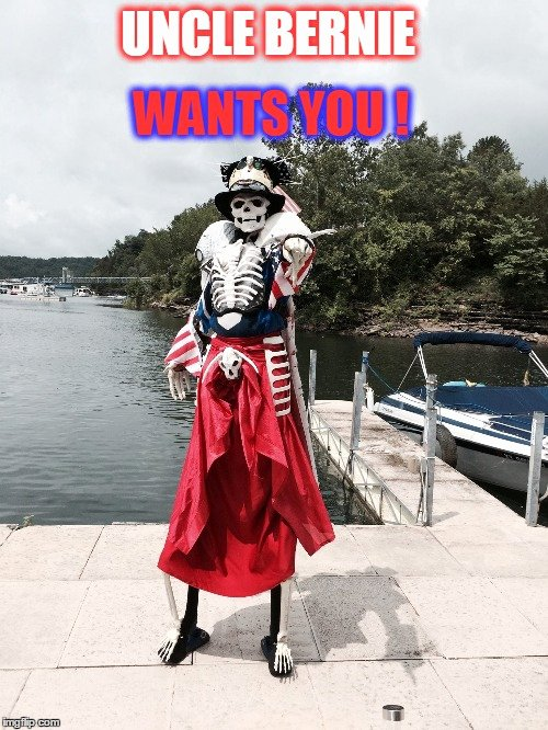 Uncle Sam Wants You Template Lovely Uncle Bernie Imgflip