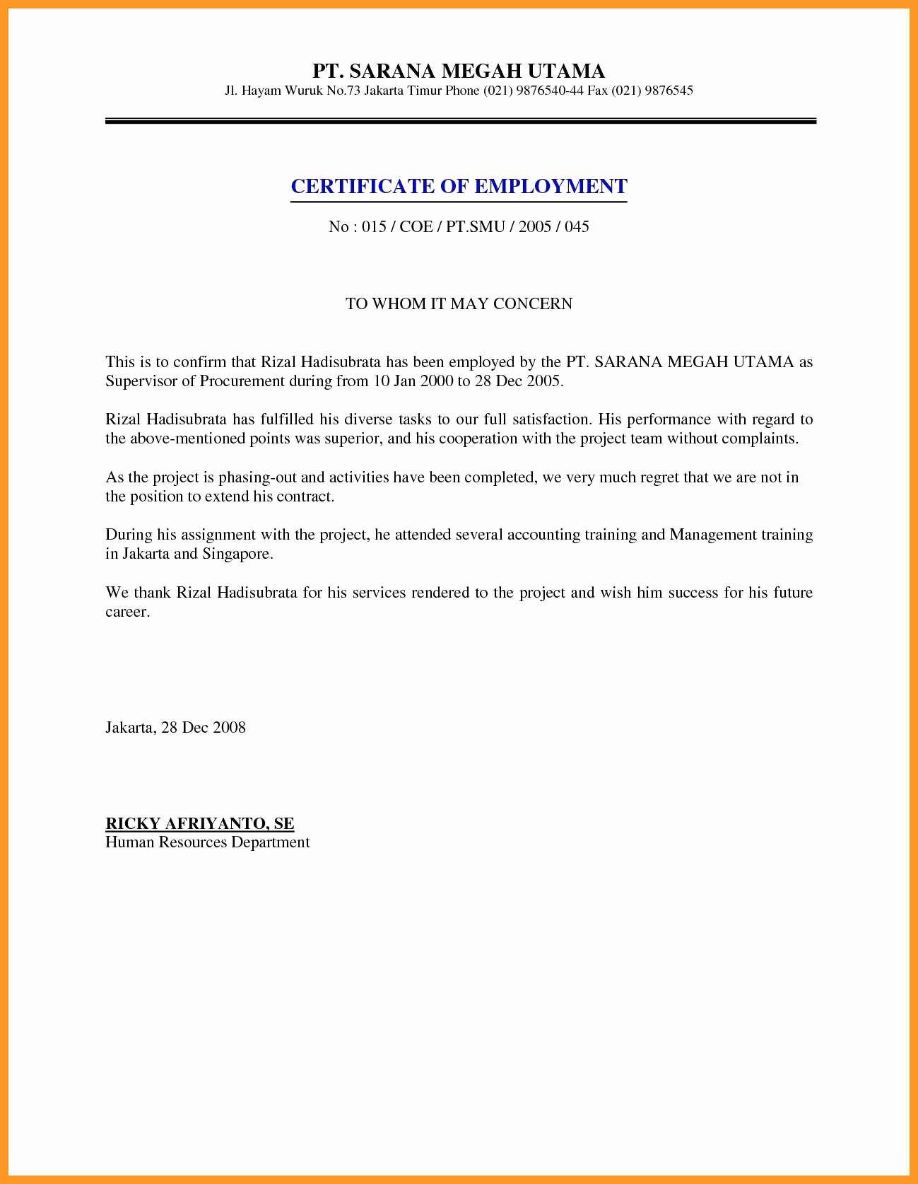 Unemployment Letter Template Elegant 12 13 Proof Unemployment Letter Sample