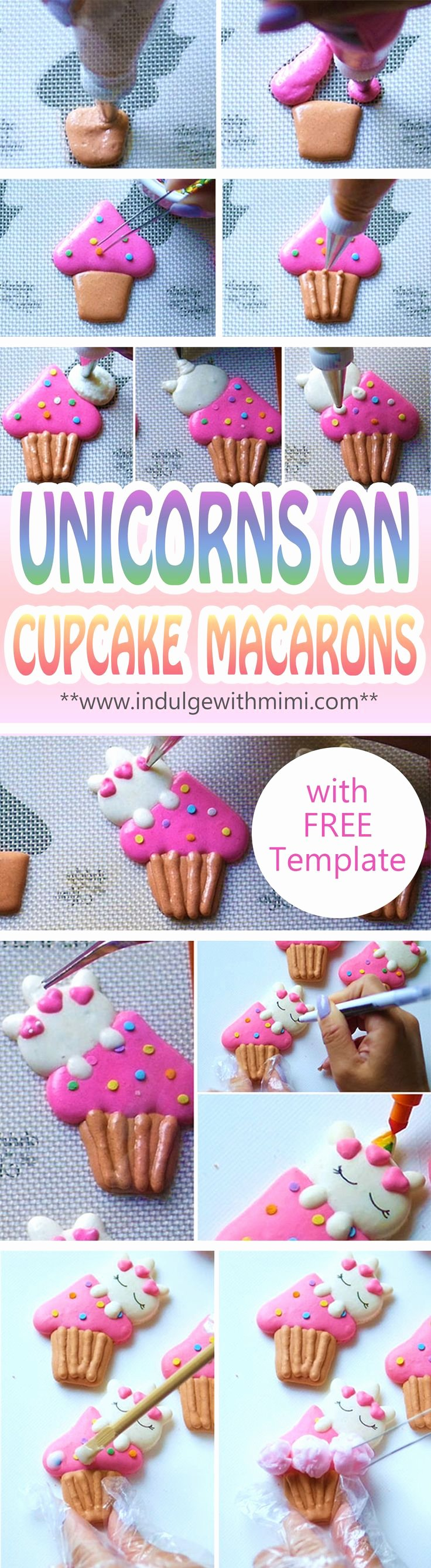 Unicorn Macaron Template Inspirational 1237 Best Macarons Images On Pinterest
