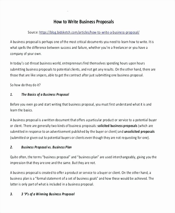 Unsolicited Proposal Sample Best Of Unsolicited Proposal Sample Letter Unsolicited Proposals