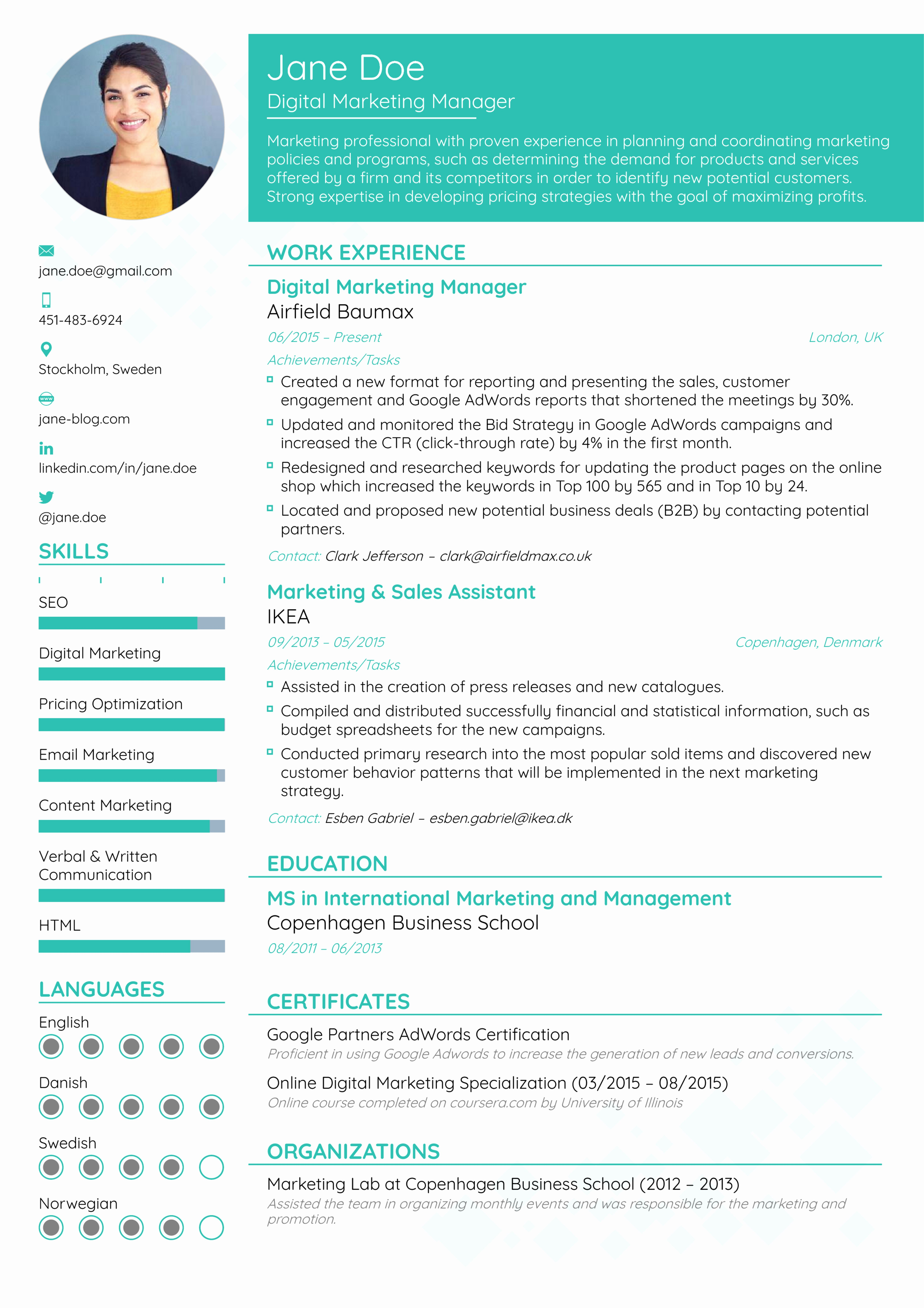 Us-style Resume Awesome How to Pick the Best Resume format In 2019 [ Examples]