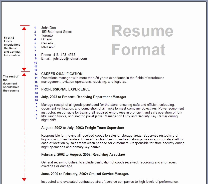 Us-style Resume Beautiful Download Resume formats & Write the Best Resume