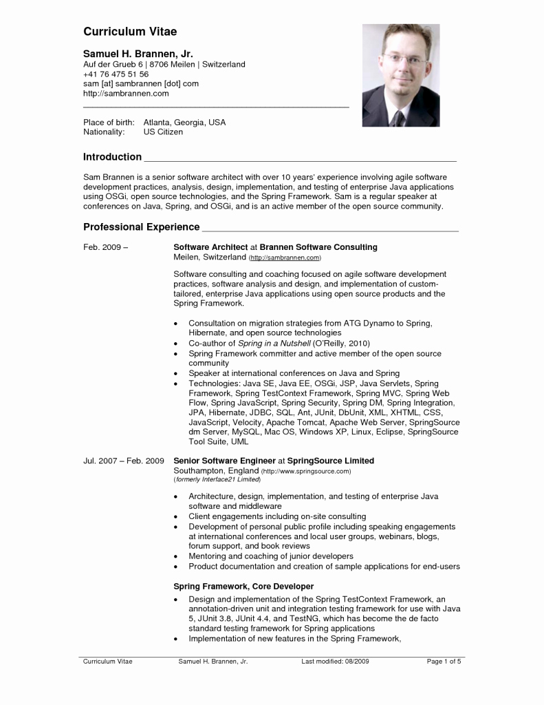 Us-style Resume Best Of top 10 Cv Resume Example Resume Example