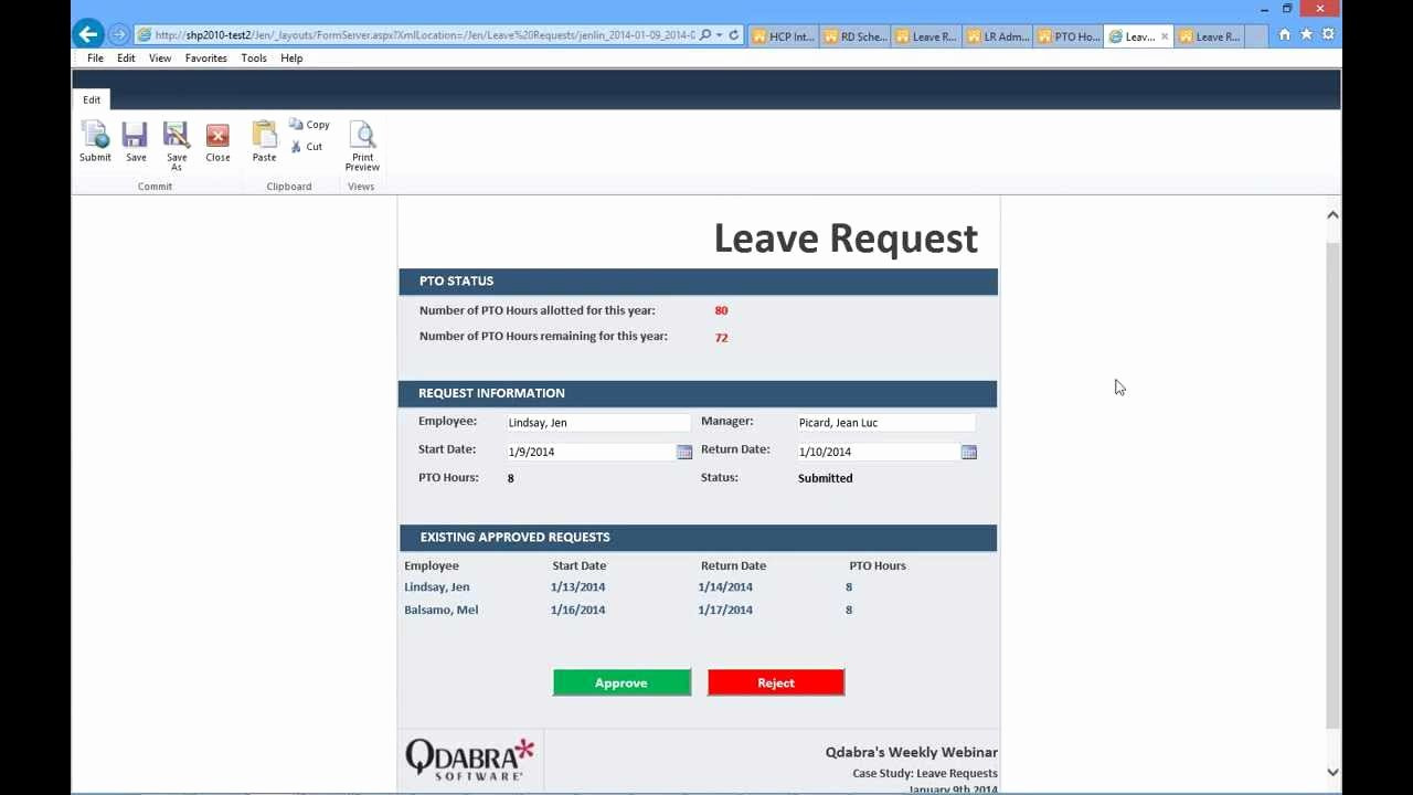 User Access Request form Template Elegant Infopath Point Leave Request forms Jan 9 2014