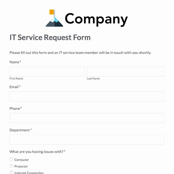 User Access Request form Template Fresh Service Request form Template Excel Driverlayer Search