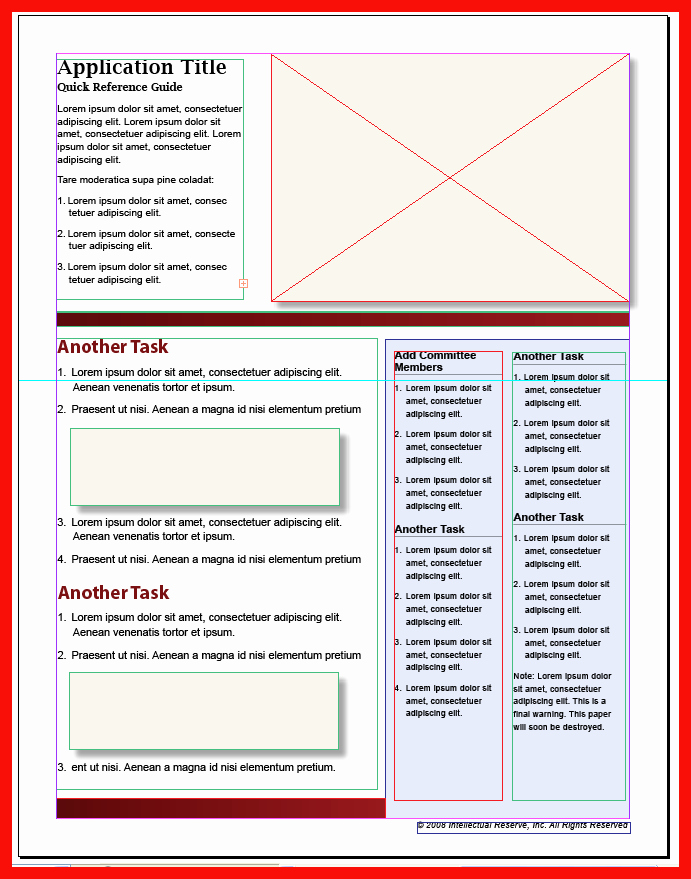User Guide Sample Unique Quick User Guide Template