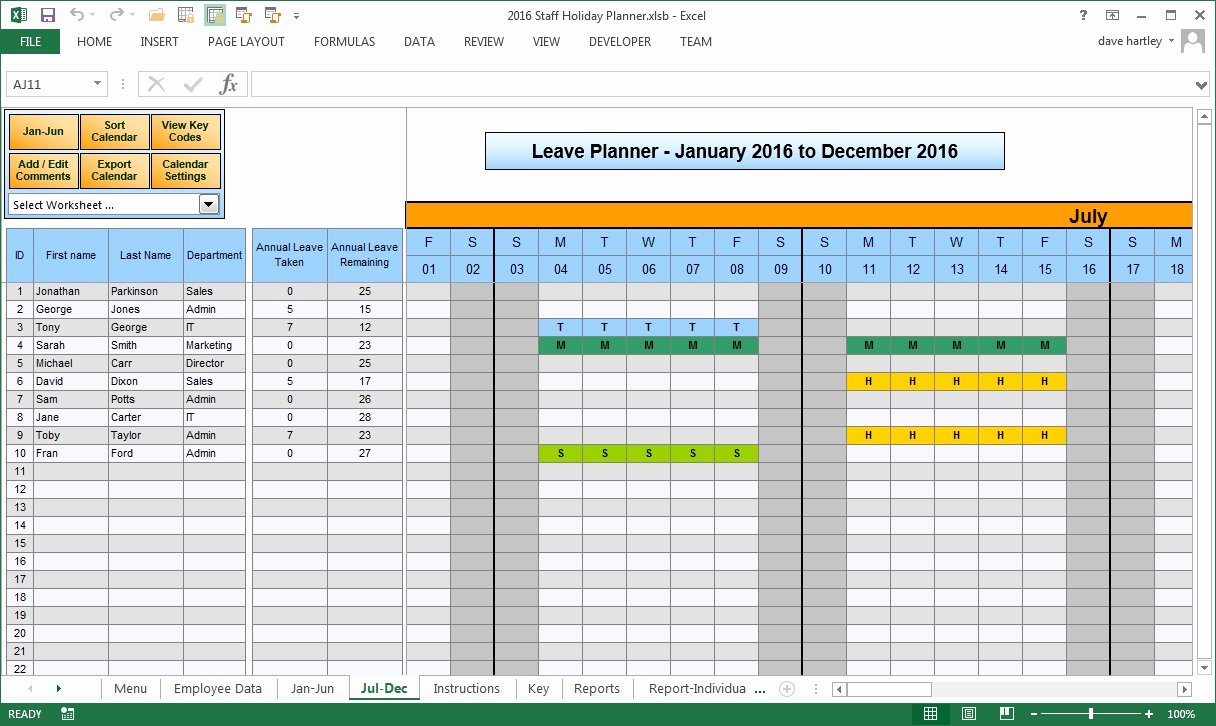 Vacation Schedule Template 2016 Fresh Vacation Calendar Template 2016