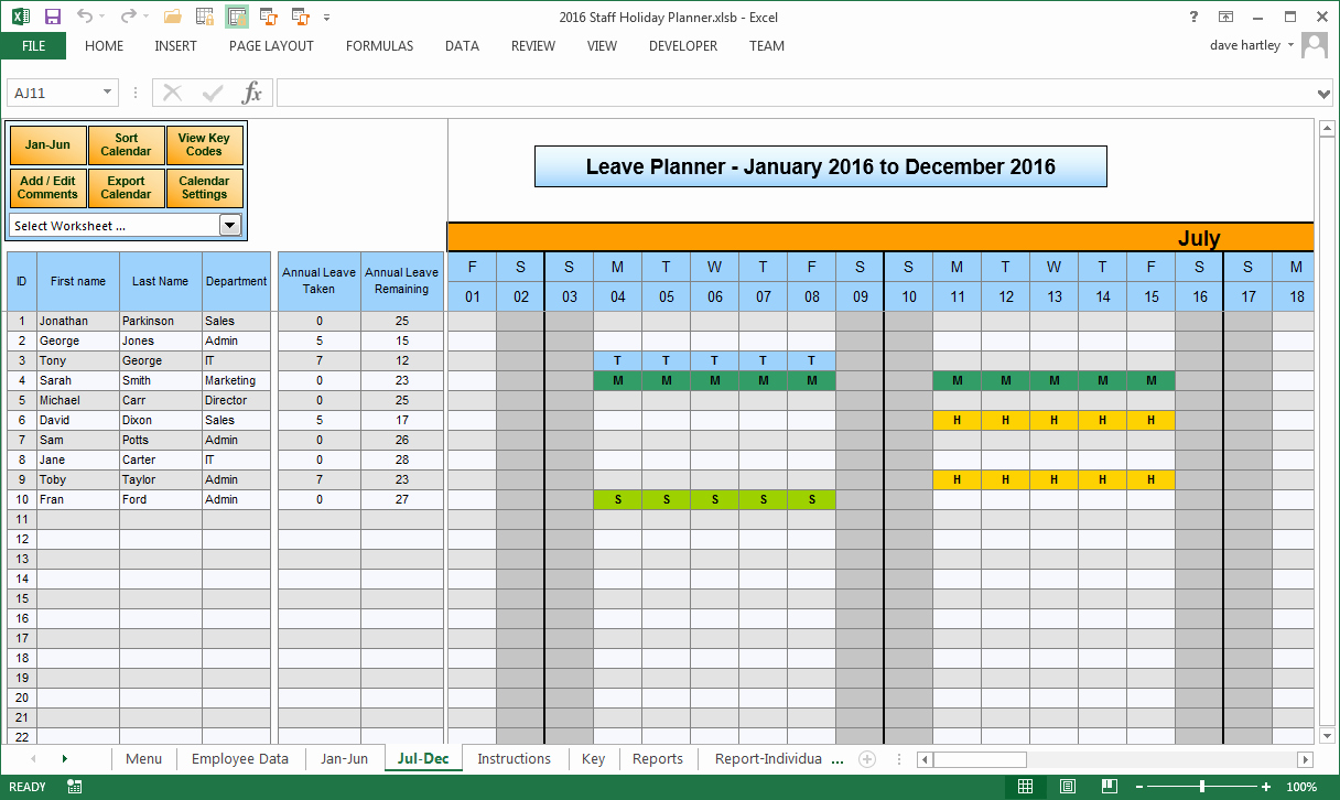 Vacation Schedule Template 2016 Luxury 2016 Employee Vacation Chart Search Results