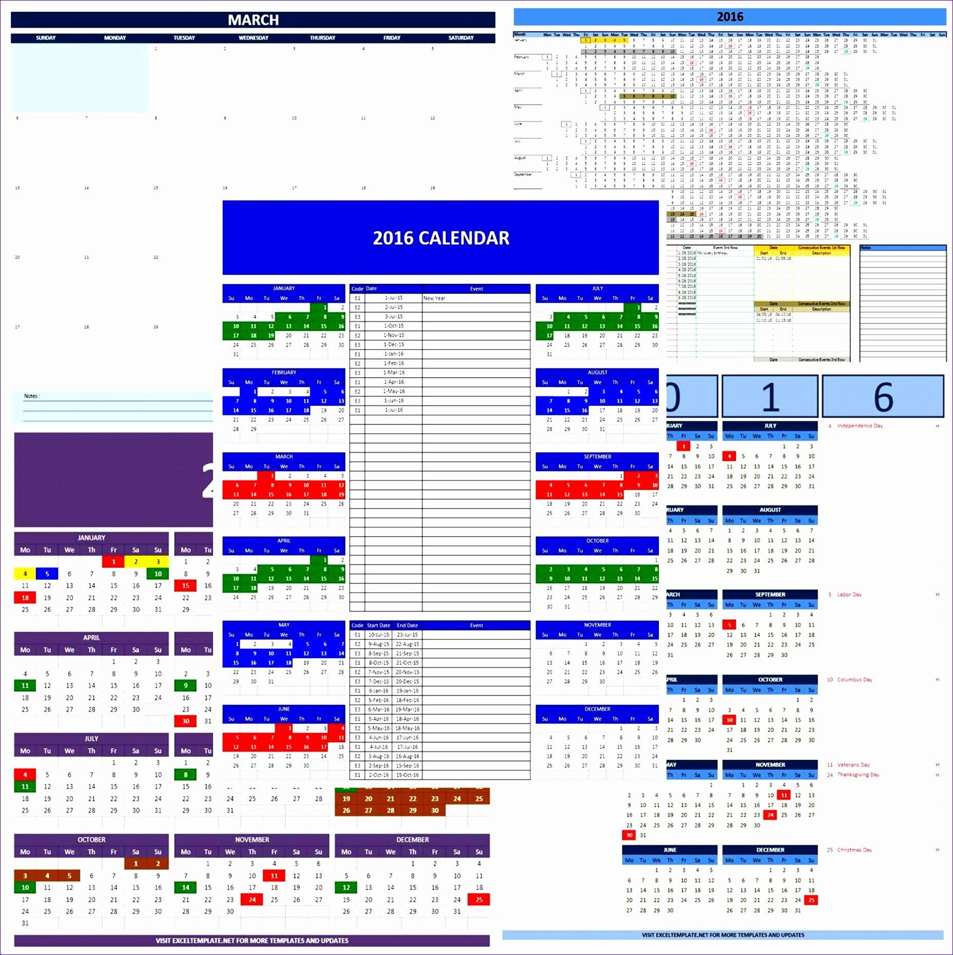 Vacation Schedule Template 2016 Unique 8 Excel Line Graph Template Exceltemplates Exceltemplates
