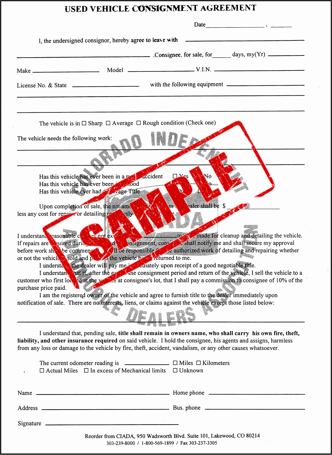 Vehicle Consignment Agreement Best Of Store 18 Used Vehicle Consignment Agreement Duplicate
