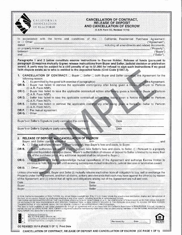 Vehicle Deposit Agreement New Products Page 5 Realty Supply Center