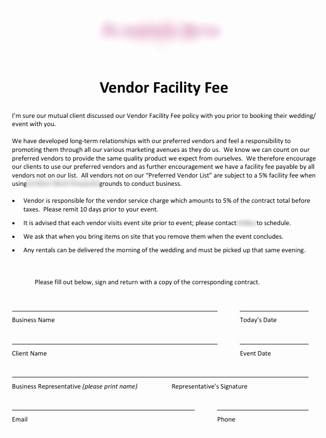 Vendor Contract for event Beautiful 5 Things Every Bride & Groom Needs to Know About Preferred