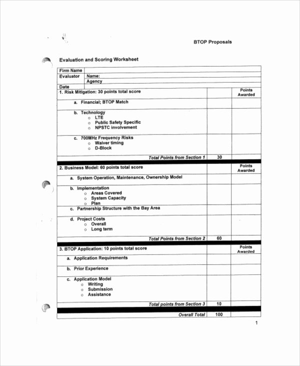 Vendor Evaluation form Elegant Sample Vendor Evaluation form 9 Examples In Word Pdf