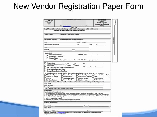Vendor Information form Lovely Dollars and Sense Of Automating Peoplesoft Processes