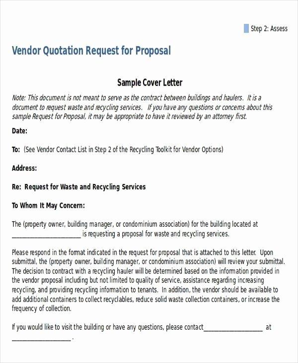 Vendor Recommendation Letter Sample Beautiful Proposal Letter for Vendor Registration