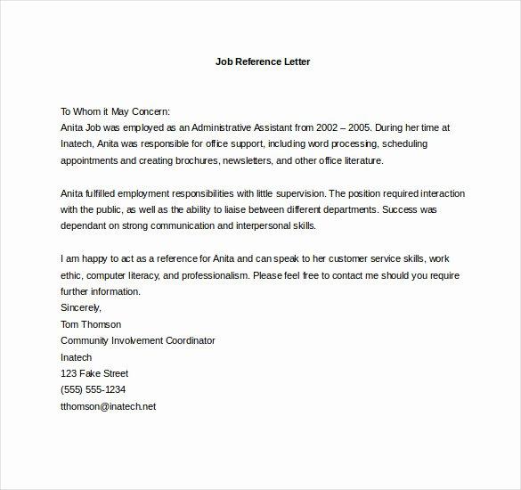 Vendor Recommendation Letter Sample New Vendor Letter Of Re Mendation Sample