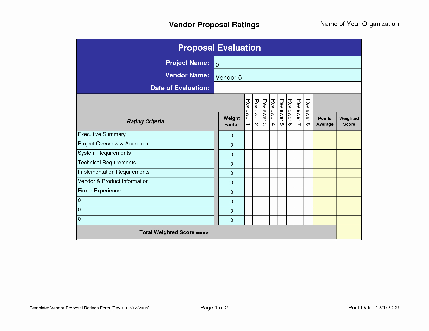 Vendor Scorecard Template Excel Inspirational Balanced Scorecard Sample Excel Bing Images