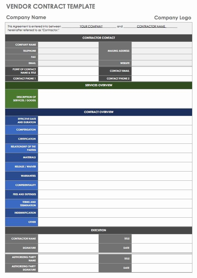 Vendor Scorecard Template Xls Beautiful 13 Free Vendor Templates