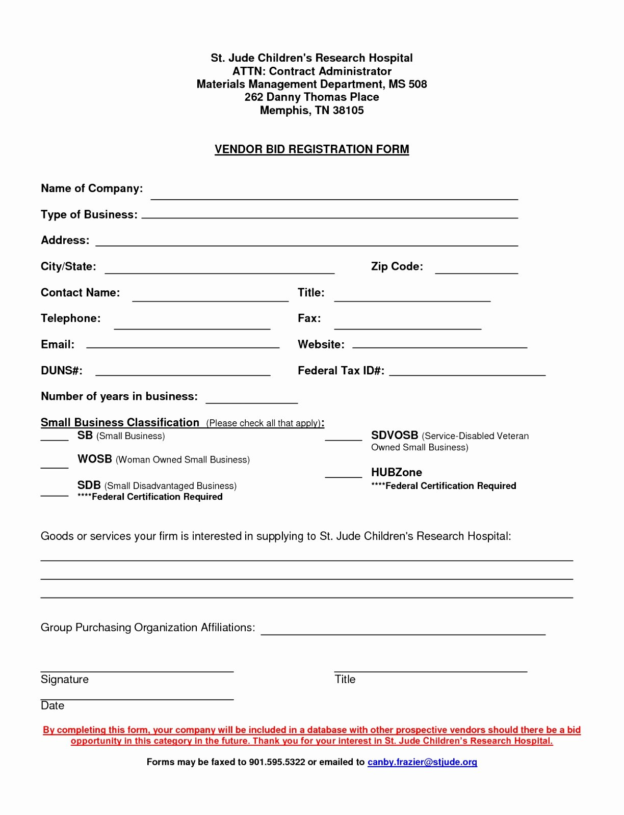 Vendor Setup form Template Beautiful New Vendor Application form Romeondinez
