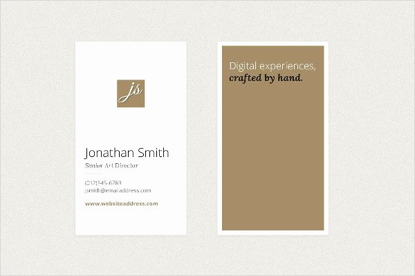 Vertical Postcard Layout Fresh 27 Vertical Business Card Templates Free & Premium Download