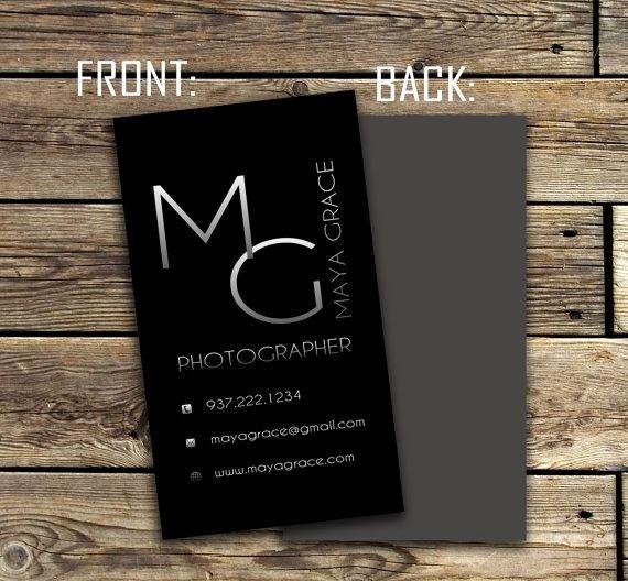 Vertical Postcard Layout Inspirational Black Modern Ombre Vertical Business Card Custom Premade