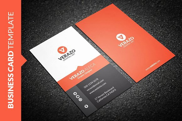 Vertical Postcard Layout Luxury Sleek Vertical Business Card Business Card Templates On