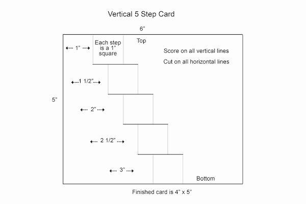 Vertical Postcard Layout New Vertical Step Card Tutorial Splitcoaststampers