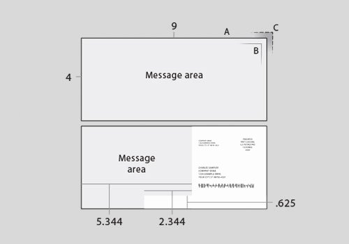 Vertical Postcard Template Awesome 2mail Templates