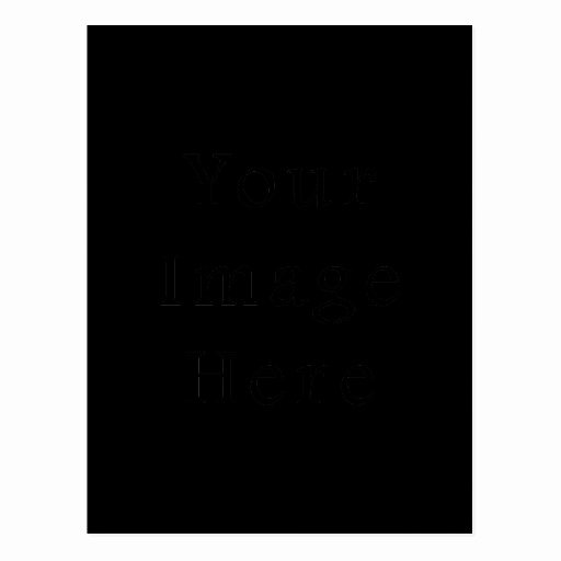 Vertical Postcard Template Awesome Black Postcard Vertical Customized Template Cards Post Card