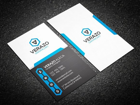 Vertical Postcard Template Luxury Creative Vertical Business Card Business Card Templates