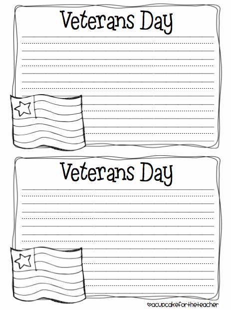 Veterans Day Essay Examples Inspirational I M Back Updated Pack and A Freebie A Cupcake for