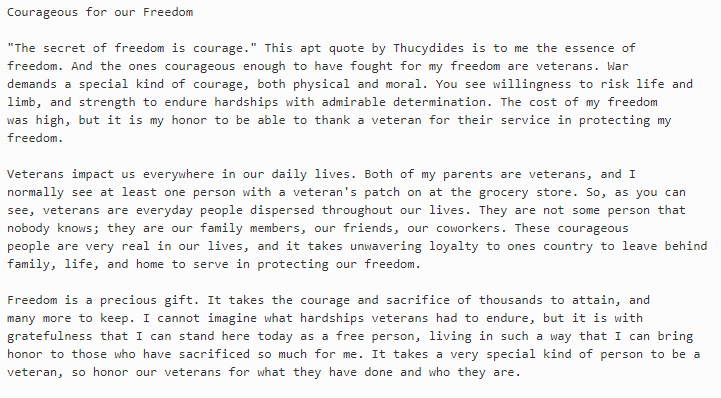 Veterans Day Essay topics Elegant Veterans Day Essay and Winning Essays Ideas for Contest