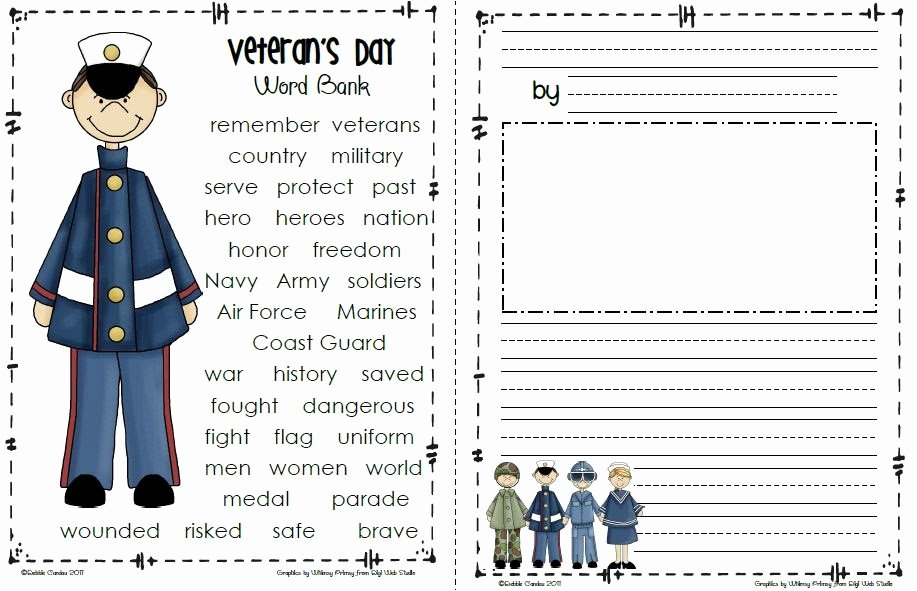 Veterans Day Essay topics Fresh Sailing Through 1st Grade Veteran S Day Freebie