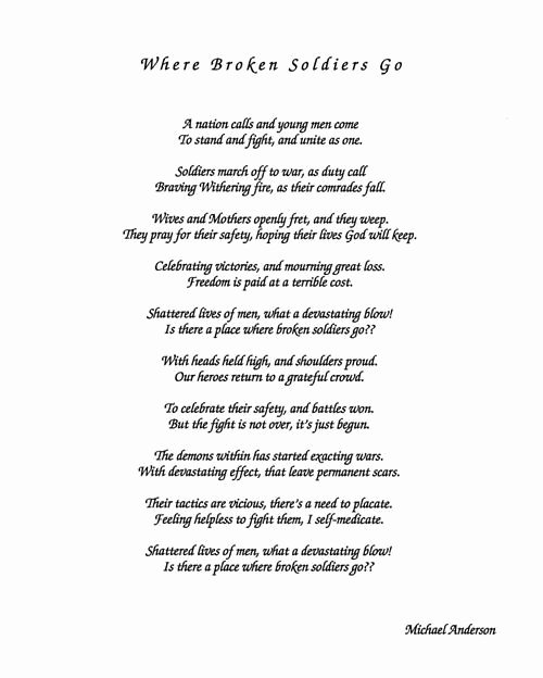 Veterans Day Essays Examples Luxury Poem Poetry