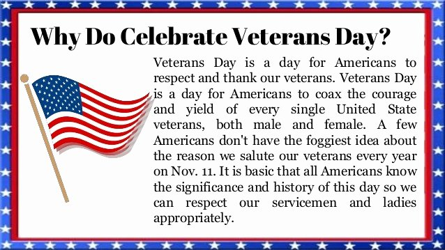 Veterans Day Essays Examples Unique Veterans Day Essay