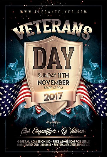 Veterans Day Flyer Template Free Unique Free Psd Flyers Templates for event Club Party and
