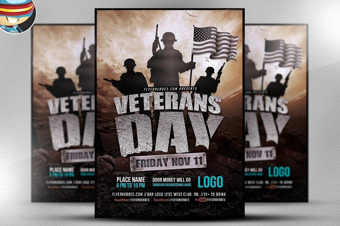 Veterans Day Flyer Templates Free Lovely Veterans Day Flyer Template Flyer Templates Creative