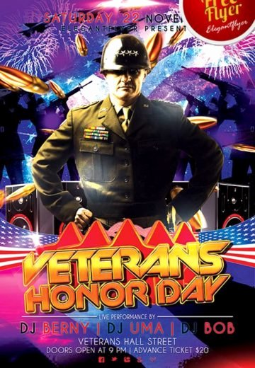 Veterans Day Flyer Templates Free Luxury Download Free Memorial Day Flyer Psd Templates for Shop