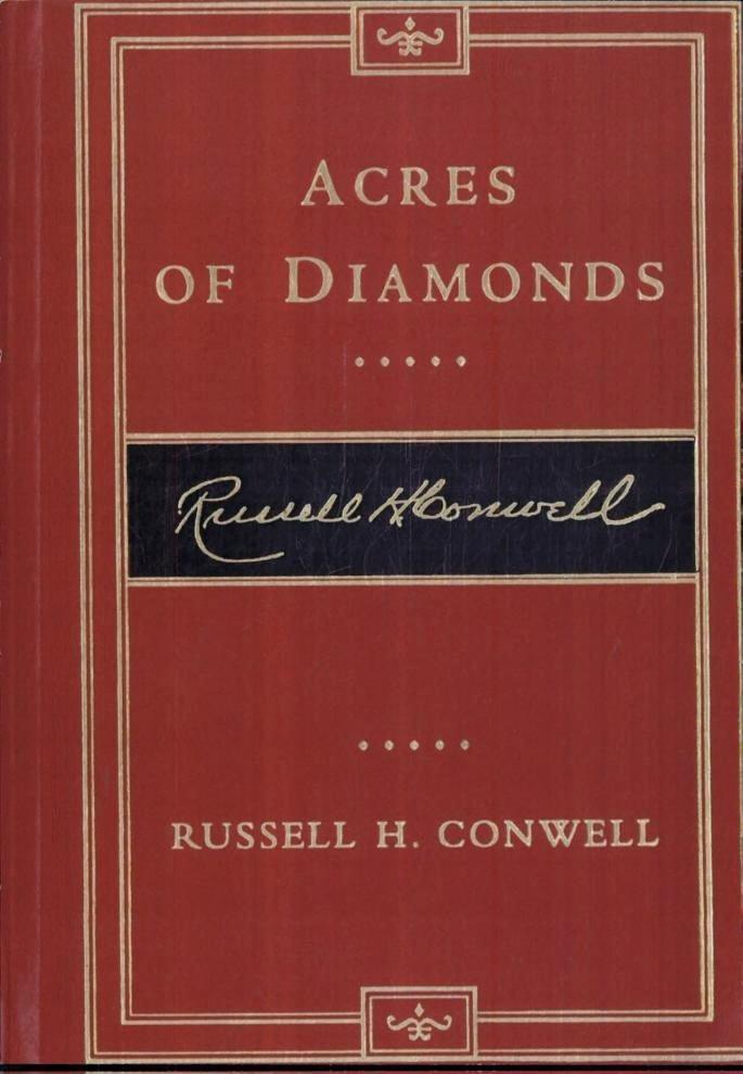 Virtual Love Meghan Daum Best Of Russell Conwell Acres Of Diamonds Analysis Essay