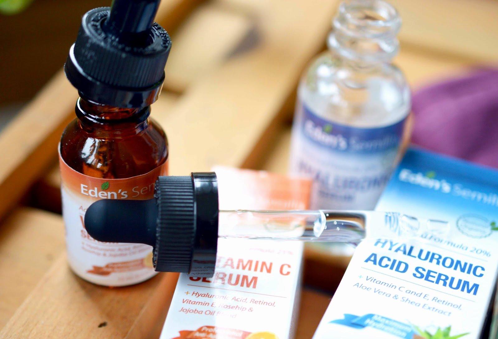 Vitamin Water Cheat Sheet Lovely Eden S Semilla Hyaluronic Acid & Vitamin C Serum