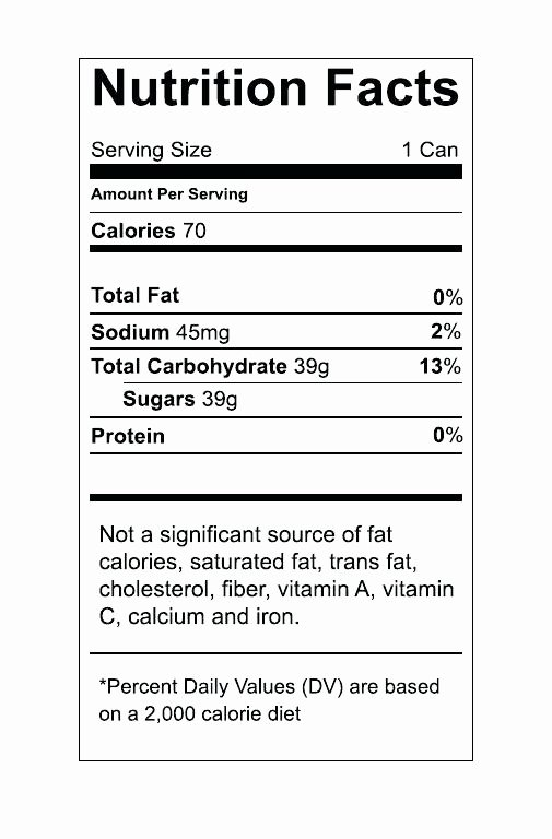 Vitamin Water Label Template Best Of Nutrition Facts Template – Siterankcheckerfo